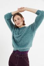 ★人気商品★ UO Sweet Fuzzy Mock-Neck Sweater ★日本未入荷★