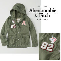 Abercrombie&Fitch*国内発送(追跡有)送関込*パッチジャケット