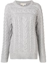 ∞∞Michael Kors∞∞ cable knitted sweater☆グレー