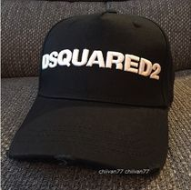 D SQUARED2(ディースクエアード) キャップ ★即発★【DSQUARED2】ロゴキャップ【関税込み】手元在庫あり