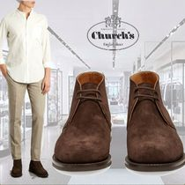 **Church's**チャーチ★Ryder 3 suede chukka boots★ブーツ
