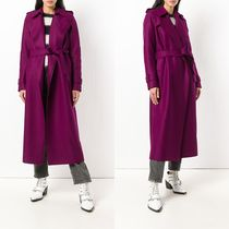 Harris Wharf London(ハリスワーフロンドン) コート ∞∞Harris Wharf London∞∞ maxi coat☆パープル