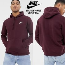 NIKE★クラブプルオーバーHoodie in Red♪
