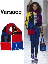 VERSACE(ヴェルサーチ)★Printed Wool Scarf