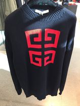 VIP SALE!!!【GIVENCHY】18/19AW新作 4G WOOL SWEATER (Navy)