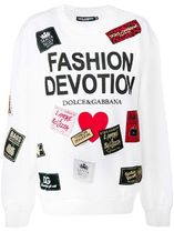 ∞∞Dolce & Gabbana∞∞ Fashion Devotion print sweatshirt