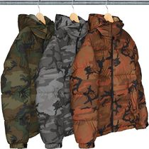レディース☆Supreme Reflective Camo Down Jacket カモ