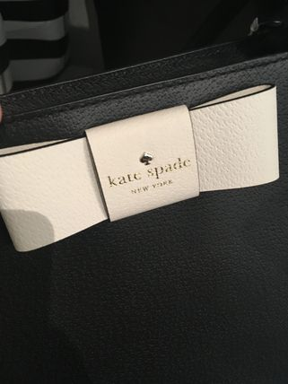 kate spade new york トートバッグ 期間限定SALE★【Kate】人気おリボンの大きめトートバッグ2色♪(5)