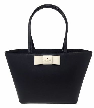 kate spade new york トートバッグ 期間限定SALE★【Kate】人気おリボンの大きめトートバッグ2色♪(7)