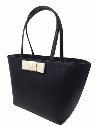 kate spade new york トートバッグ 期間限定SALE★【Kate】人気おリボンの大きめトートバッグ2色♪(8)