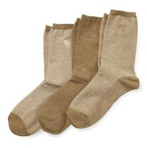 Stretch Cotton Sock 3-Pack