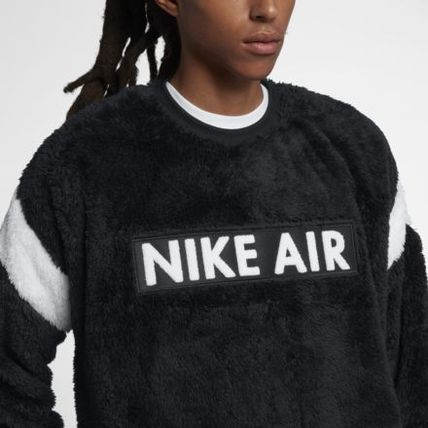 "Nike パーカー・フーディ 最短2日 国内発送 NIKE AS M NSW NIKE AIR CREW ""SHERPA FLEECE"""