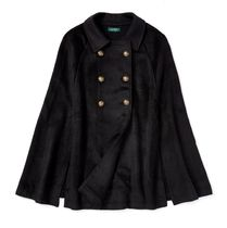 Pleated Military Cape