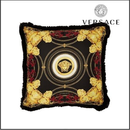 VERSACE(ヴェルサーチ)★Ganimede Medusa silk cushion