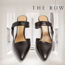 【19SS】THE ROW★Gala Twist leather mules
