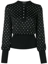 ∞∞TOM FORD∞∞ embellished knitted top☆ブラック