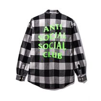 【レア!】 大人気 Anti Social Social Club Woodman Flannel