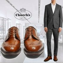 **Church's**チャーチ★Grafton leather brogues★革靴