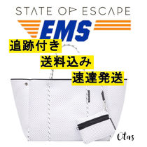 追跡付【STATE OF ESCAPE】Escape tote white ホワイト