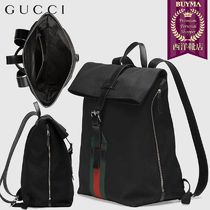 【正規品保証】GUCCI★19春夏★TECHNO CANVAS BACKPACK