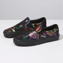 VANS★FESTIVAL SATIN SLIP-ON★サテン素材★刺繍★21.5~25cm