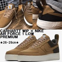 限定★CARHARTT WIP × NIKE AIR FORCE 1 LOW PREMIUM★ブラウン