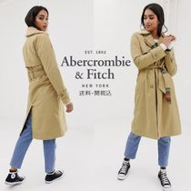 Abercrombie & Fitch 千鳥格子トレンチコート