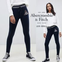 Abercrombie & Fitch ロゴスキニージョガー