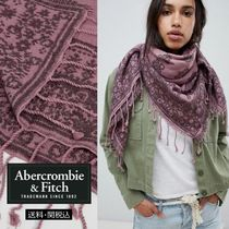 Abercrombie & Fitch ペイズリーブランケットスカーフ