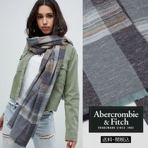 Abercrombie & Fitch チェックスカーフ