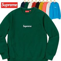 Supreme Box Logo Crewneck Sweatshirt AW 18 WEEK 16