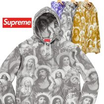 Supreme Jesus and Mary Hooded Sweatshirt AW 18 WEEK 16