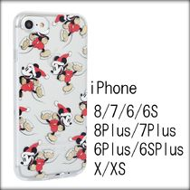 [送関込]SKINNYDIP×Disney クリア SKATING MICKEY iPhoneケース