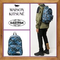 ★MAISON KITSUNE×Eastpak 《PRINTED BACKPACK》送料込★
