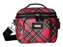 Betsey Johnson★Plaid Print Lunch Tote ランチお弁当バッグ