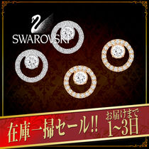VIP価格【SWAROVSKI】CREATIVITY CIRCLE SMALL ピアス