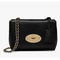 Mulberry Small Glossy Goat Leather Shoulder Bag Lily