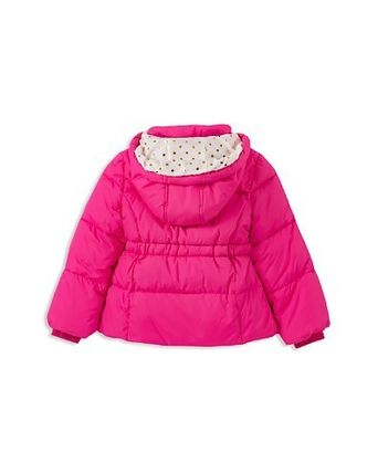 kate spade new york キッズアウター kate spade new york Girls' Bow Puffer Coat - 7-14(4)