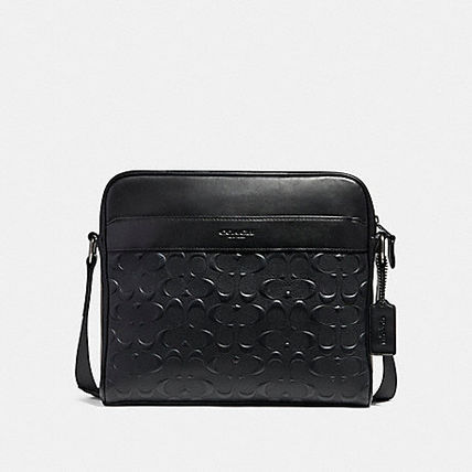 ☆COACH☆CHARLES CAMERA BAG IN SIGNATURE LEATHER