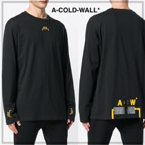 A-COLD-WALL(アコールドウォール) Tシャツ・カットソー 【A-COLD-WALL】ブラケットロゴ L/S Tシャツ(送料関税込)