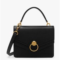 Mulberry サッチェルバッグ Harlow Classic Grain Leather