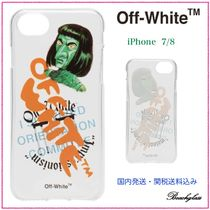 Off-White ☆ Green Man iPhone ケース