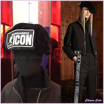 "【VIP Sale!30%off】 D SQUARED2_women /""ICON""ファーハット/"