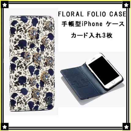 新作☆Tory Burch☆FLORAL FOLIO☆手帳型☆iPhone8ケース☆50434