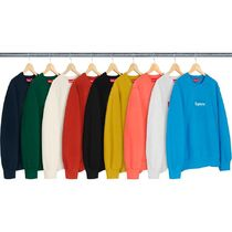 16 WEEK Supreme FW 18 Box Logo Crewneck