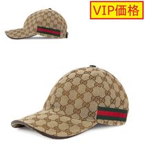 VIP価格!GUCCI GG canvas baseball hat ♪