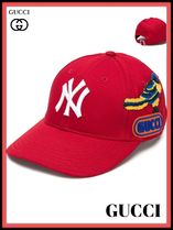 【GUCCI】◆New York Yankees baseball キャップ◆大人気◆