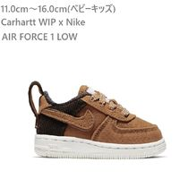 親子モデル☆Carhartt WIP x Nike☆AIR FORCE1☆11.0から16.0cm