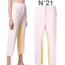 【19SS】★No21★inner stripe cropped trousers