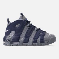 FW18 NIKE AIR MORE UP TEMPO GREY NAVY GS 22.5-25cm 送料無料